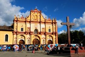 The Cathedral of San Cristóbal de las Casas