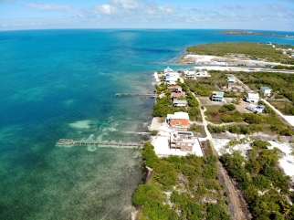 Scenic views in Caye Caulker