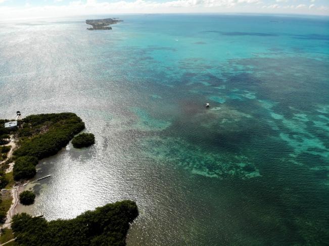 Scenic views in Caye Caulker