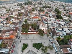 View of the area we stayed at in San Cristóbal de las Casas