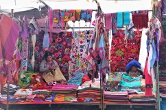 The colourful markets