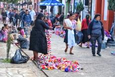 The streets of San Cristóbal de las Casas