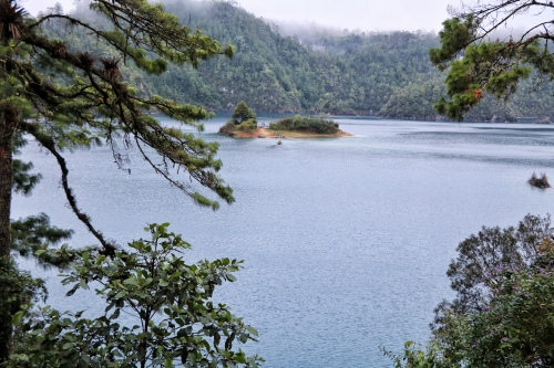 Lovely view of one of the lakes in Montebello National Park