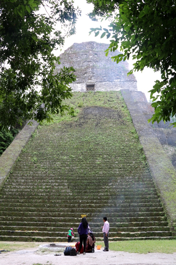 Mayan ritual taking place
