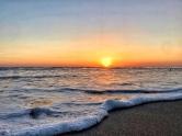 A beautiful Nicaraguan Sunset over the Pacific Ocean